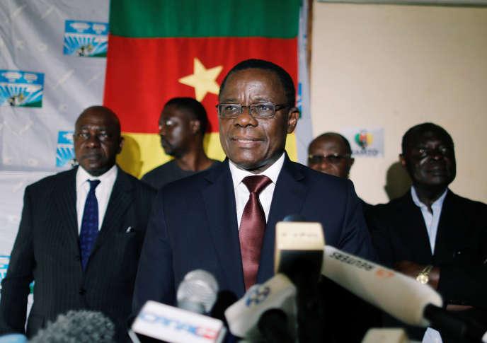 Maurice Kamto, président du Mouvement de la renaissance du Cameroun (MRC) au lendemain de la présidentielle du 7 octobre 2018, annonce sa victoire. Deux semaines plus tard, le Conseil constitutionnel déclarera Paul Biya, 85 ans, dont trente-six ans au pouvoir, vainqueur du scrutin.