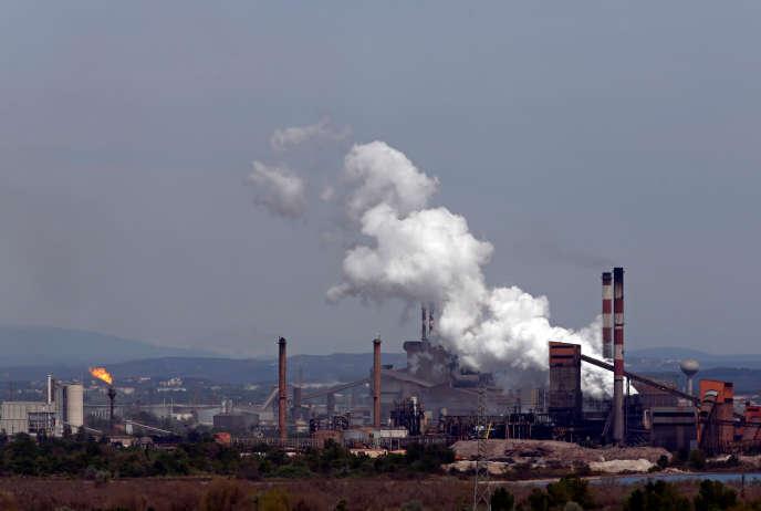 Le site d'ArcelorMittal à Fos-sur-Mer.