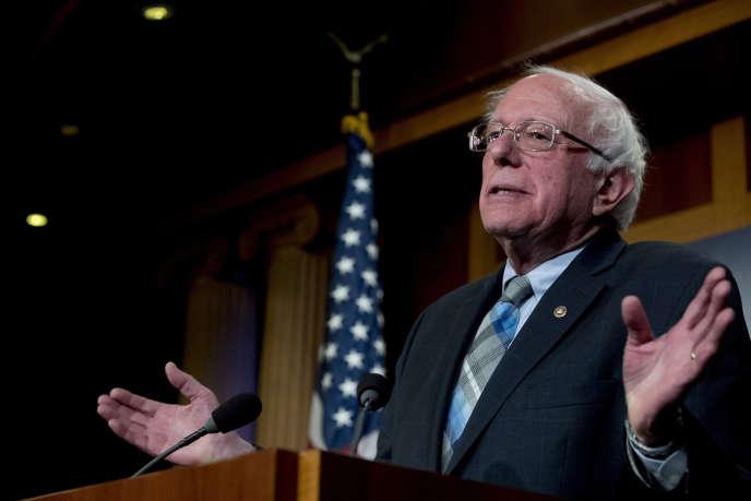 Bernie Sanders, 77 ans, a fait son annonce lors d'un entretien diffusé par une radio du Vermont, Etat dont il est élu.
