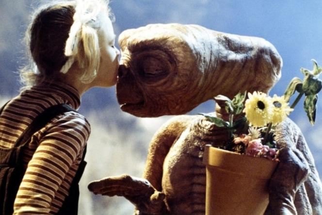 Le film «E.T.» de Steven Spielberg.