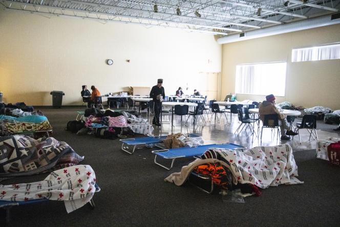 Des logements d'urgence à Kalamazoo (Michigan).