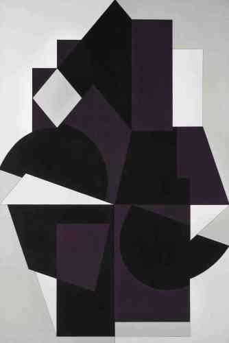 «Même si ce tableau emprunte son titre à une ville de Laponie, c'est l'architecture du village de Gordes sous le soleil provençal qui a inspiré la série à laquelle il appartient. Le cristal, avec ses effets complexes de reflets, de transparences et de confusion des plans, devient le modèle de cette abstraction.»