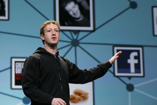 Mark Zuckerberg à San Francisco (Californie), le 21 avril 2010.