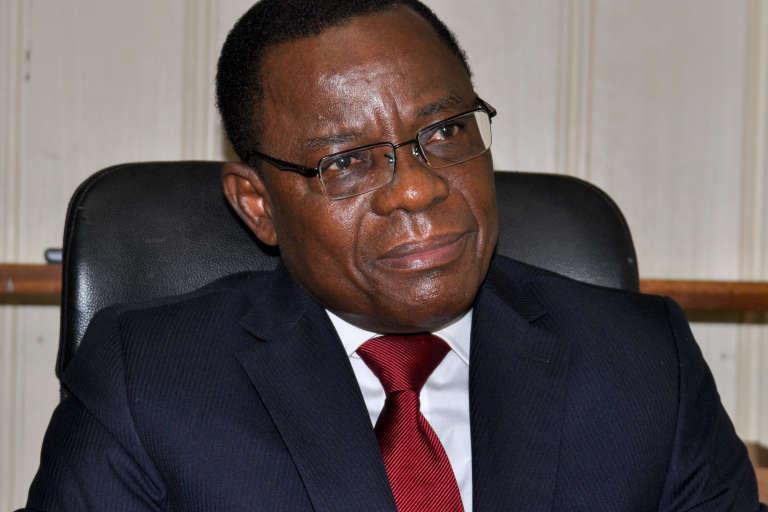 Le leader du Mouvement pour la renaissance du Cameroun (MRC), Maurice Kamto, à Yaoudé, le 14 août 2018.