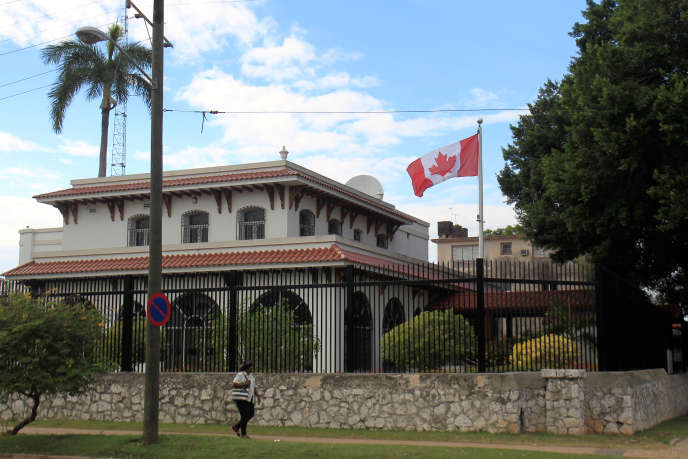 L'ambassade du Canada à Cuba, le 30 janvier.