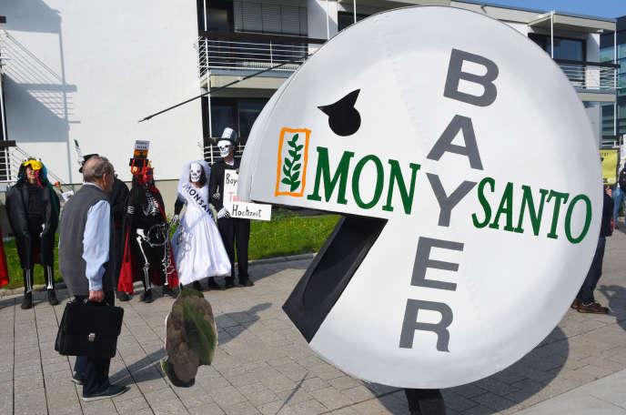 Manifestation contre Monsanto à Bonn, en mai 2018.