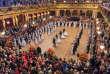 Le baldu Wiener Philharmoniker, au Musikverein de Vienne, a rassemblé près de 3600 personnes, le 24 janvier.