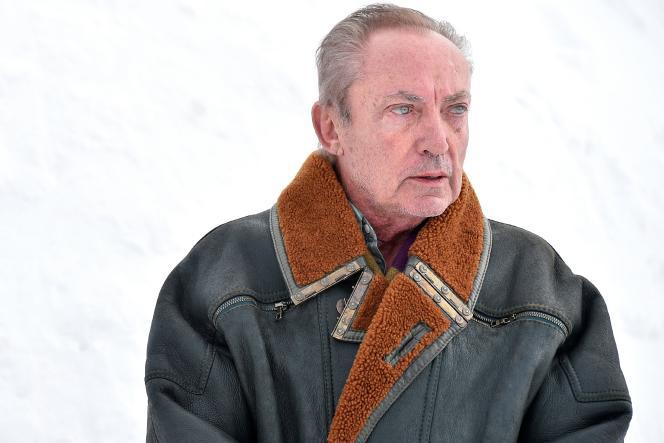 L'acteur allemand Udo Kier lors du 26e Festival du film fantastique de Gérardmer, le 31 janvier 2019.