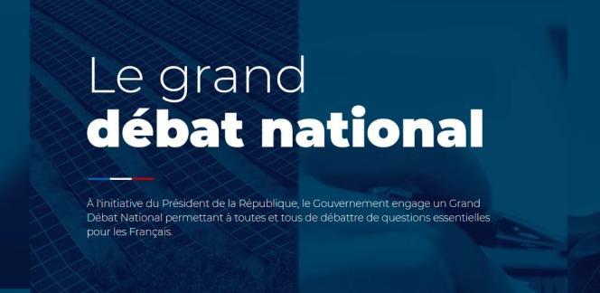 La plate-forme du gouvernement Granddebat.fr a recueilli plus de500000contributions depuis son lancement.