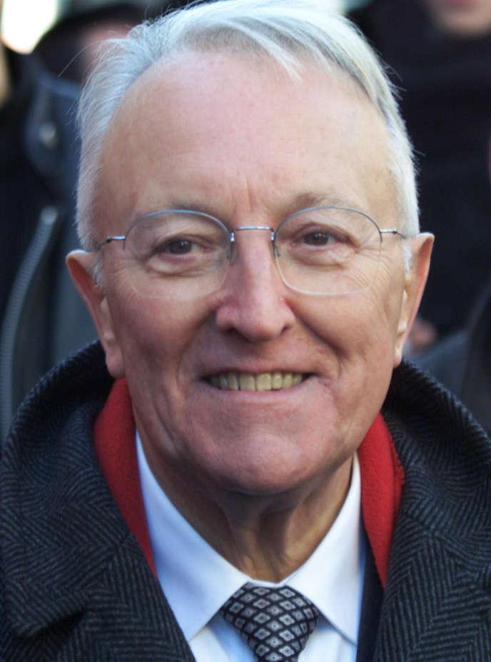 Georges Sarre, en 2001.
