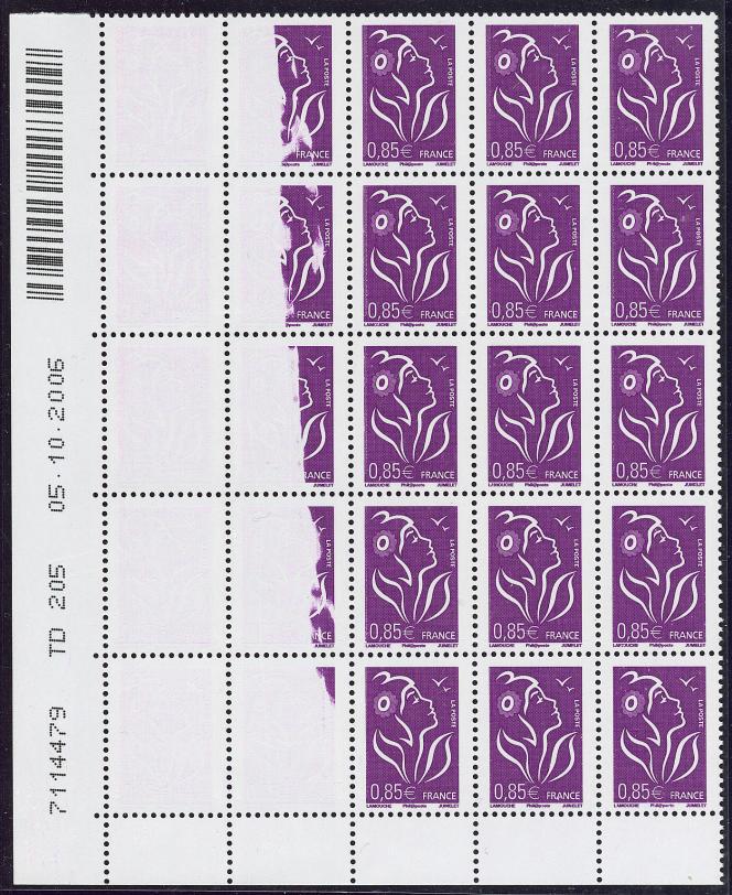 Impression« à sec» (couleur absente), prix de départ de 300 euros.