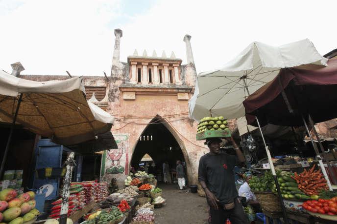 Marché à Bamako.