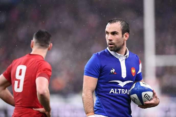 Le demi de mêlée Morgan Parra, vendredi 1er février, au Stade de France.