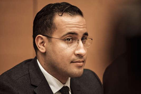 Audition d'Alexandre Benalla au Sénat, le 21 janvier.