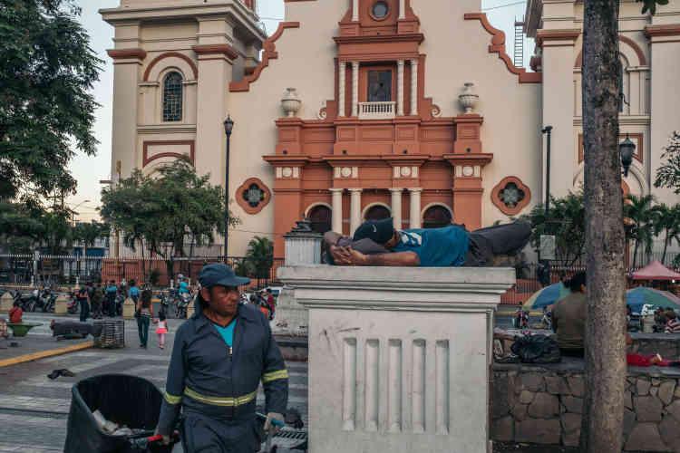 Le centre-ville de San Pedro Sula.