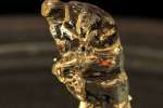Une réplique du« Penseur» de Rodin imprimée en 3D.