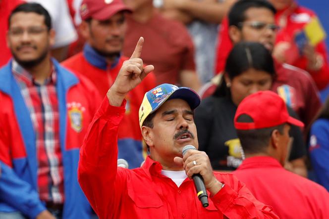Le président du Venezuela, Nicolas Maduro, samedi 2 février à Caracas.