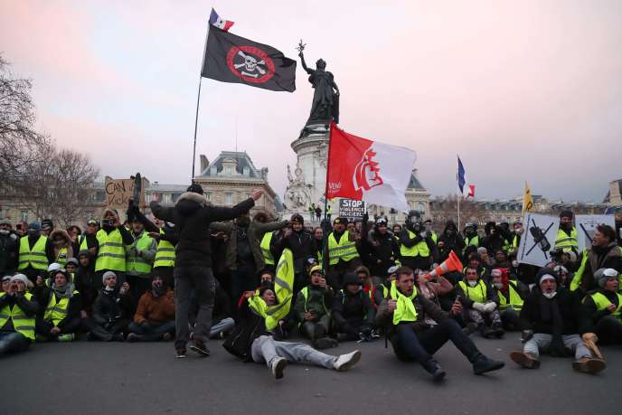 Près de 58 600 personnes ont manifesté samedi 2 février en France, selon le ministère de l'intérieur. Des défilés pour dénoncer notamment l'usage des lanceurs de balles de défense.