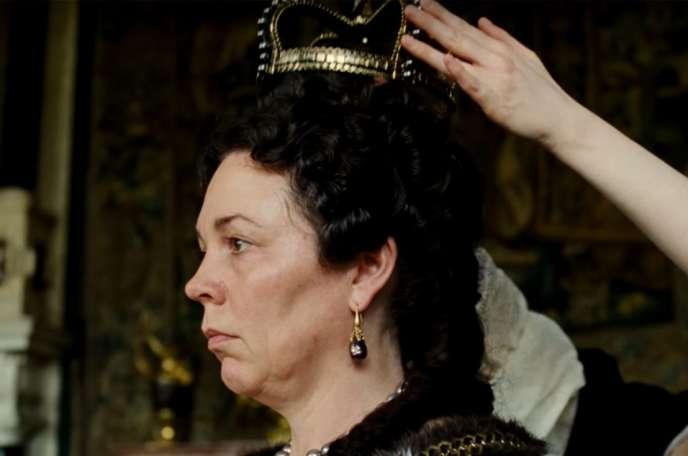 Olivia Colman incarne la reine Anne dans« La Favorite», deYorgos Lanthimos.