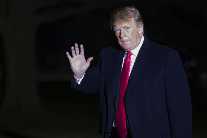 « Si quelqu'un cherche à faire des armes nucléaires, nous allons le savoir avant qu'il le fasse», a expliqué Donald Trump à CBS.