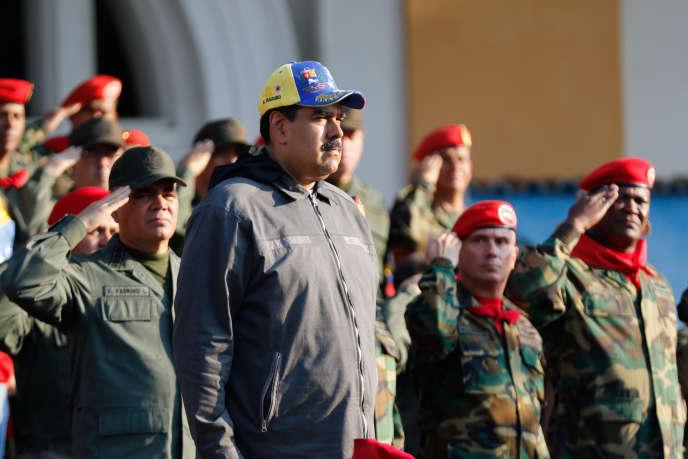 Nicolas Maduro, à Caracas, le 4 février.