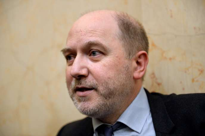 Denis Baupin à l'Assemblée nationale, à Paris, le 4 avril 2015.