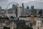 Londres et la City, le 23 août 2017.