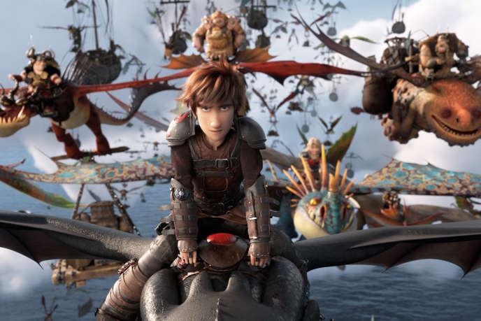 «Dragons 3. Le Monde caché», film d'animation américain de Dean DeBlois.