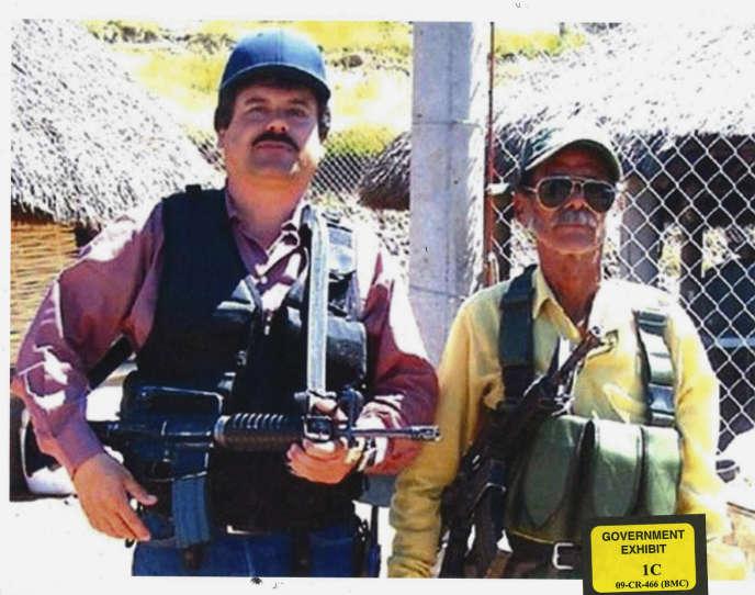 Joaquin «ElChapo» Guzman, à unedate nonprécisée sur une photo rendue publique par le procureur général de l'Etat deNew Yorkle 9 janvier.
