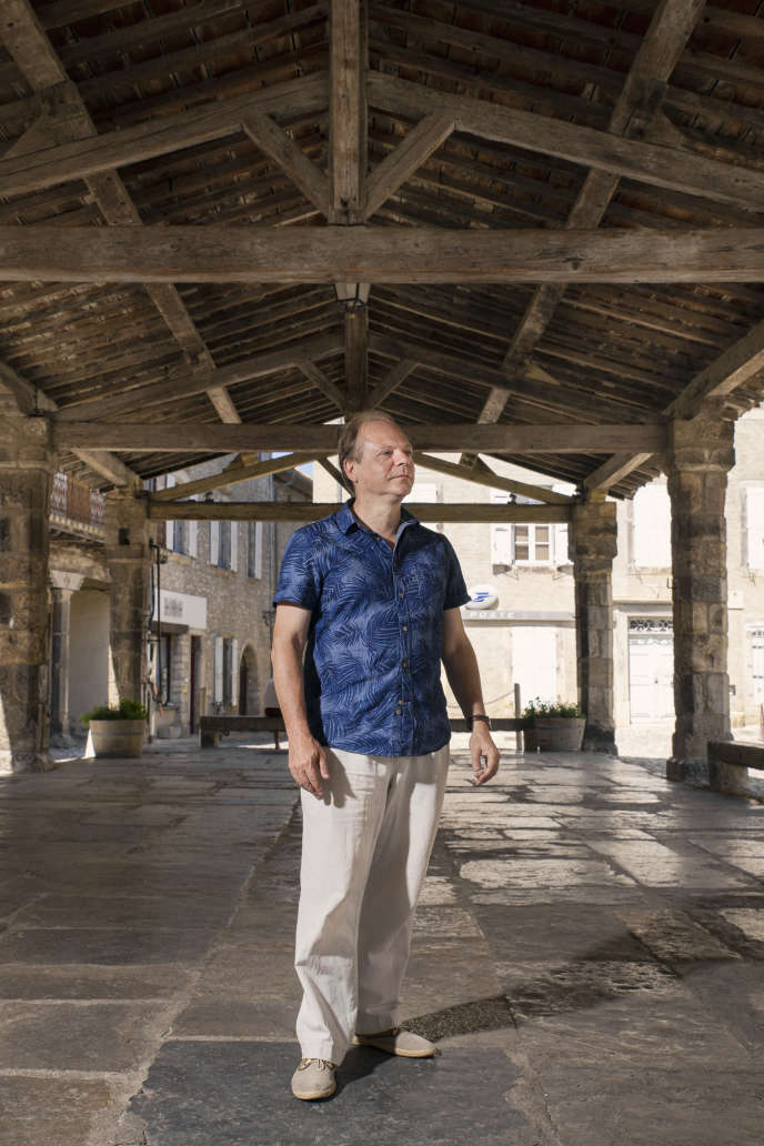 L'historien Patrick Boucheron au Banquet du livre, à Lagrasse (Aude), en août 2018.