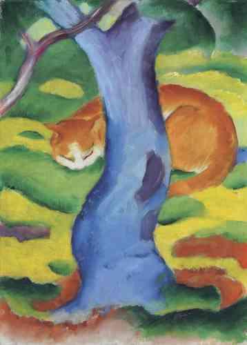 Ressentant une empathie profonde avec le monde, il ira, dans ses compositions, jusqu'à peindre un chat qui se fond dans le paysage de la toile, révélant le «rythme organique des choses».