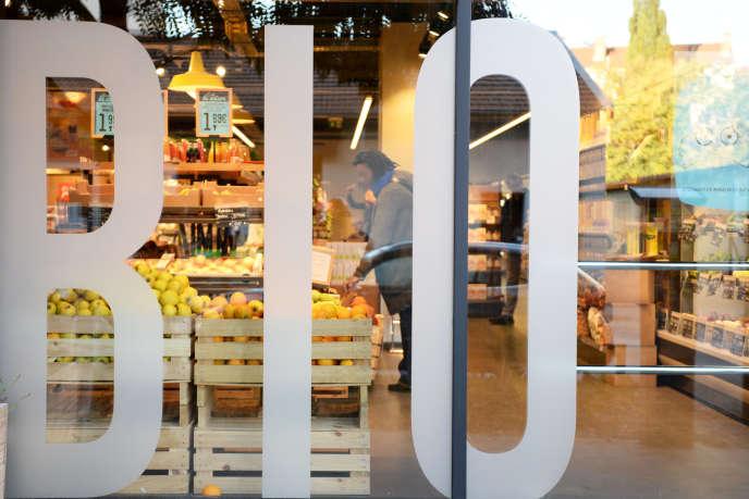 Un magasin bio La Vie claire, à Lyon, le 22 octobre 2018.