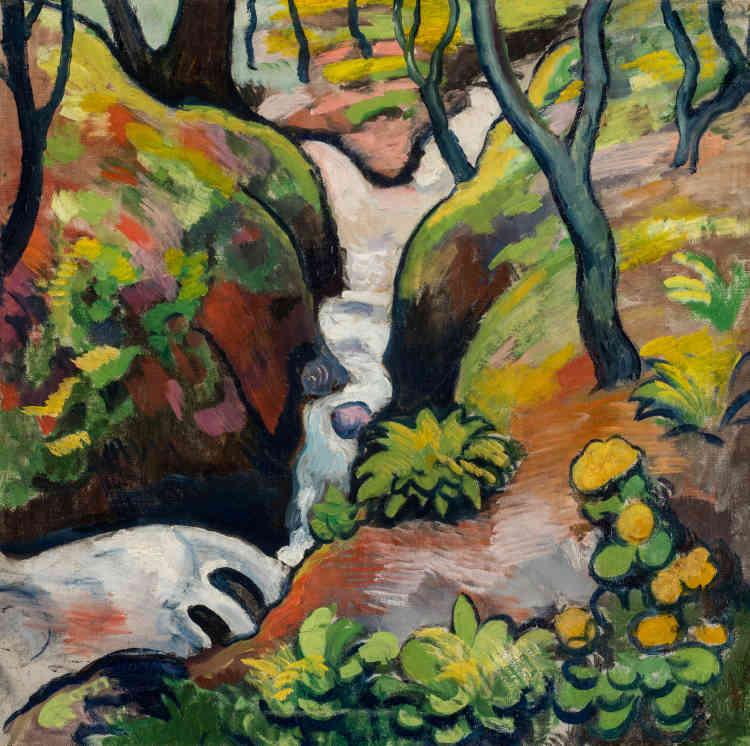 C'est en janvier 1910 que les deux peintres se rencontrent: leur amitié est immédiate et durable. Outre leur fascination pour les toiles de Gauguin, Cézanne, Van Gogh ou encore Matisse, ils partagent la même passion pour la période dite du «post-impressionnisme français».