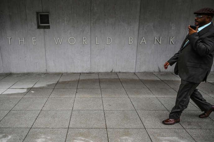 Au siège de la Banque mondiale, à Washington, le 17janvier 2019.