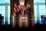 Donald Trump à la Maison Blanche, le 31 janvier.