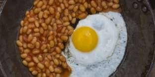 Les Britanniques ne sont pas autosuffisants, ni en haricots à la tomate ni enœufs.