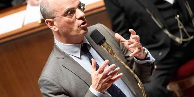 Le ministre de l'éducation nationale, Jean-Michel Blanquer, lors des questions au gouvernement, à l'Assemblée nationale, le 5 février 2019.