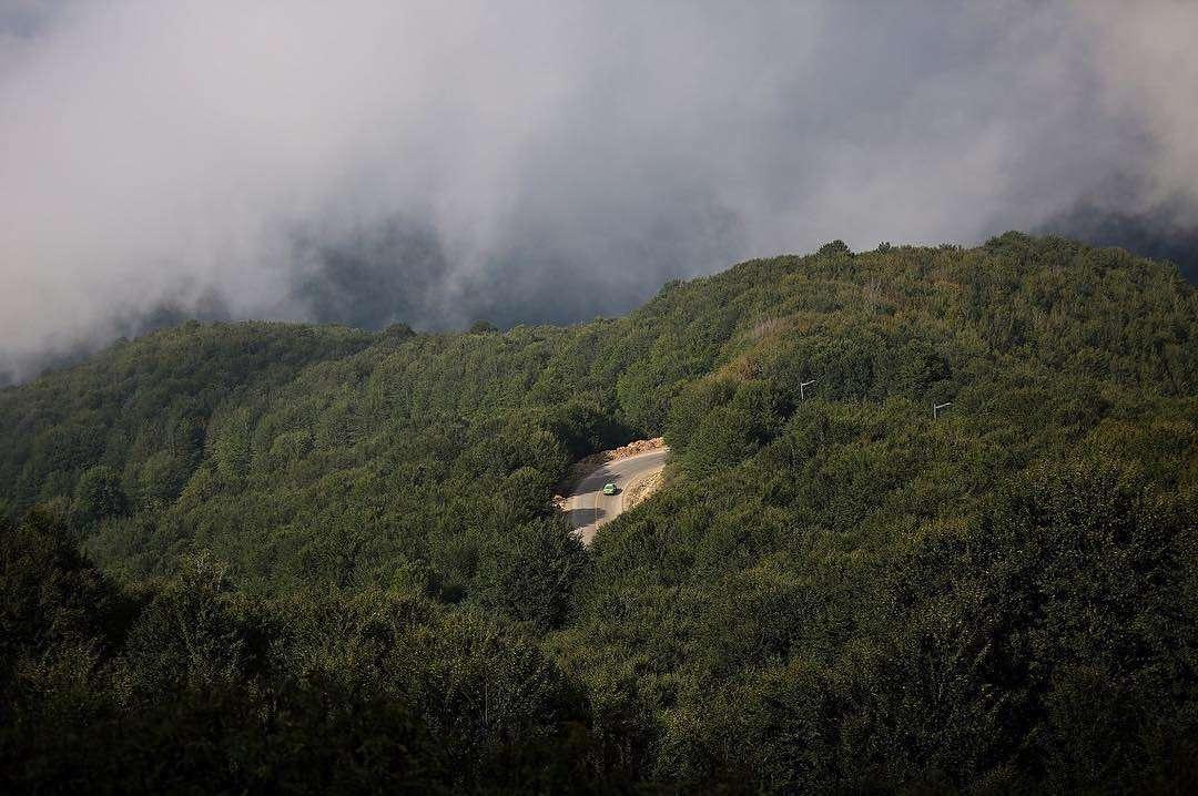 Montagnes dans la province du Gilan.