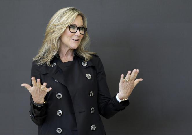 Angela Ahrendts, à San Francisco, le 19 mai
