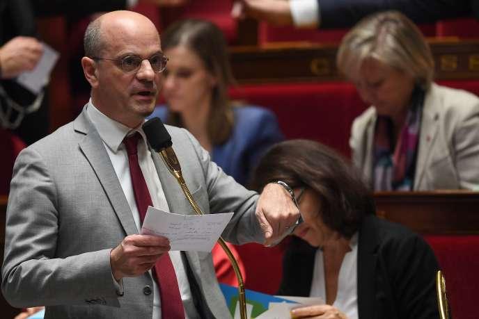 Jean-Michel Blanquer, le 6 février à l'Assemblée nationale.