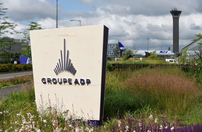 Au siège d'ADP, à Tremblay-en-France (Seine-Saint-Denis), près de l'aéroport de Roissy, en juin 2018.