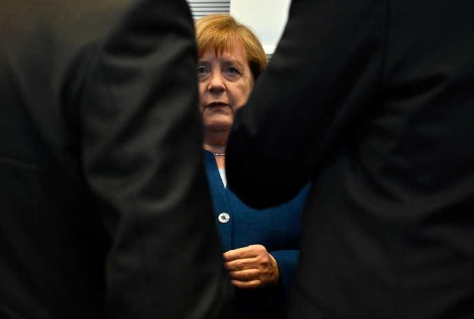 Angela Merkel, le 29 janvier à Berlin.