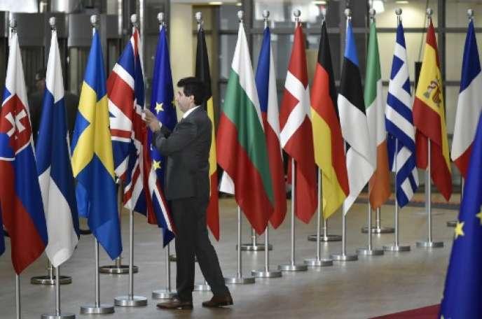 Conseil européen, en mars 2018, à Bruxelles.