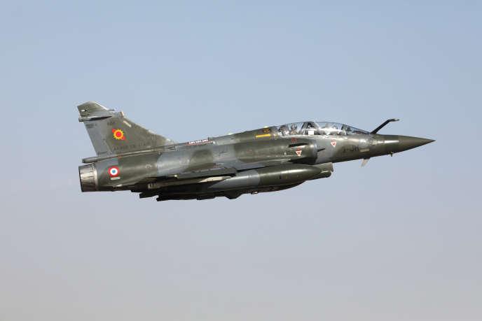 Un Mirage 2000 décolle de la base français de N'Djamena, le 22 décembre 2018.
