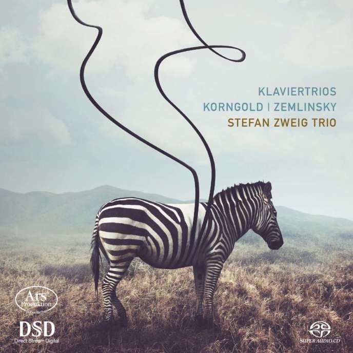 Pochette de l'album du Trio Stefan Zweig consacré à Erich Wolfgang Korngold.