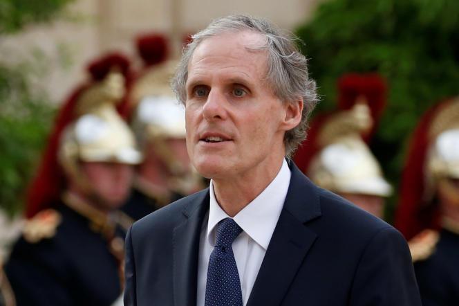 Christian Masset, l'ambassadeur de France en Italie, ici en 2016, à l'Elysée.