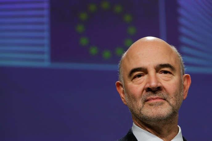 Le commissaire européen à l'économie, Pierre Moscovici, au siège de la Commission européenne, à Bruxelles, en décembre 2018.