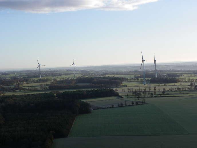 Les éoliennes dePlélan-le-Grand