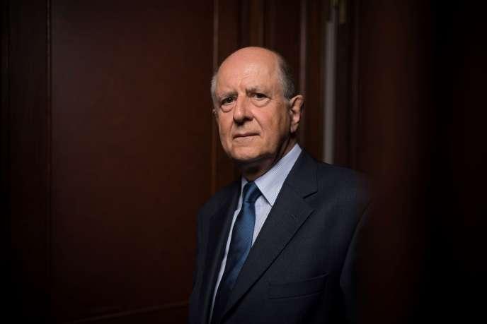 Jean-Marc Sauvé, vice-président honoraire du Conseil d'Etat, enseptembre 2017.