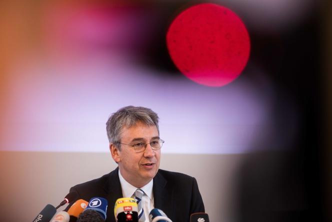 Andreas Mundt, président de l'Office fédéral de lutte contre les cartels, à Bonn, le 7 février.
